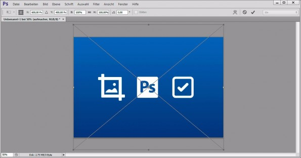 Bilder in Photoshop skalieren