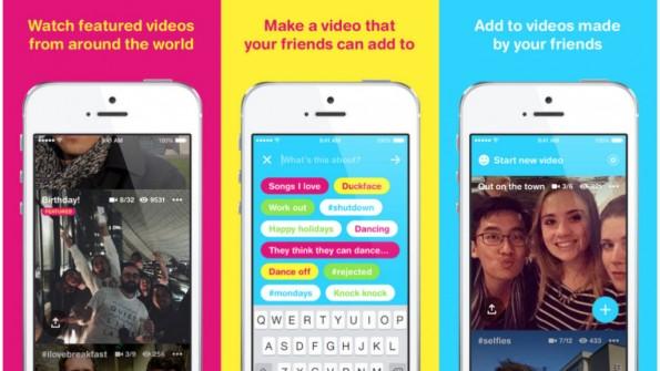 Facebook lädt mit Riff Freunde zum Video-Dreh ein. (Bild: Screenshot)