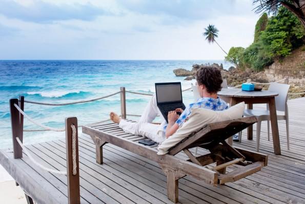 Freelancer und Digitale Nomaden werden bei Unternehmen immer beliebter. (Foto: Shutterstock)