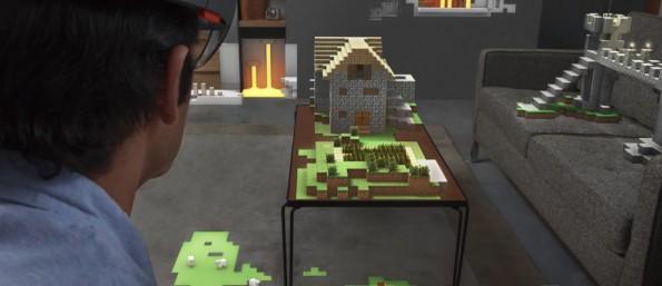 Einfach mal das Lieblings-Game auf den Wohnzimmertisch projizieren? Diese und andere Funktionen könnten mit HoloLens Realität werden. (Screenshot microsoft.com)