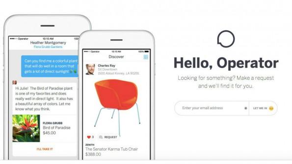 Operator versteht sich als Messaging-App für Händler und Kunden. (Bild: Screenshot)