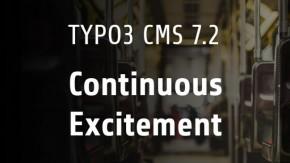 TYPO3 CMS 7.2: Das ist neu