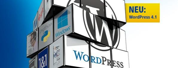 WordPress-Hosting ist natürlich auch bei 1&1 möglich. (Screenshot: 1&1)