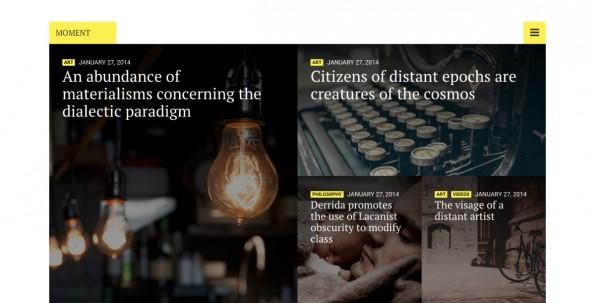 WordPress-Theme für dein Foto-Magazin (Screenshot: cssigniter.com)