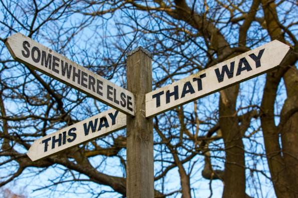 Wer keine Ziel hat, kann auch den Weg dahin nicht planen. (Foto: Shutterstock)
