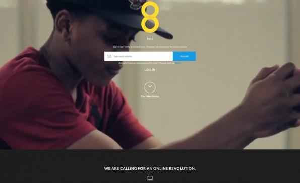 Das Social Network 8 will Nutzer am Umsatz beteiligen. (Screenshot: weare8.com)
