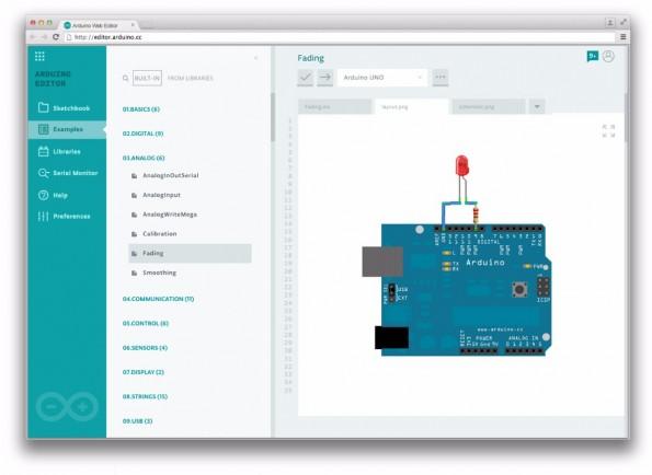 Auch mit Schaltbildern und Schemata soll Arduino Create umgehen können. (Quelle: Arduino)