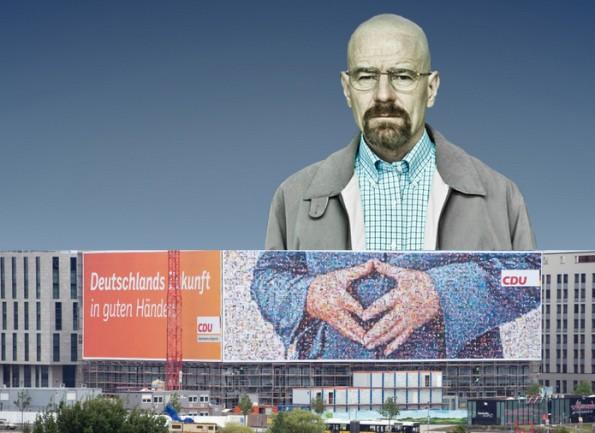 Heisenberg sah das dicke Ende auch nicht kommen – oder etwa doch? (Grafik: Merkelraute.tumblr.com)