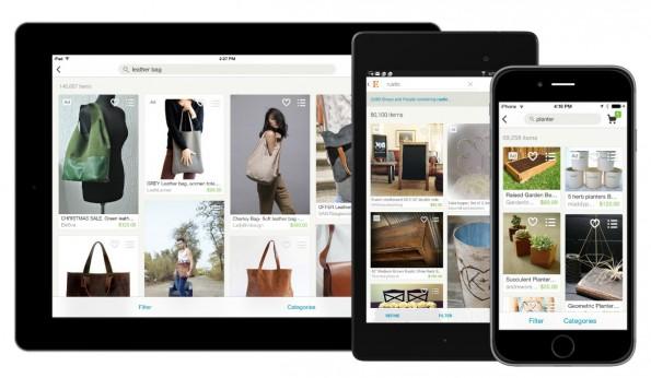 Handmade: Etsy soll Konkurrenz von Amazon bekommen. (Foto: Etsy.com)