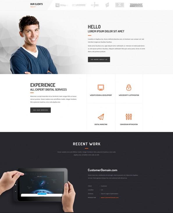 Creative Agency Web-Templates