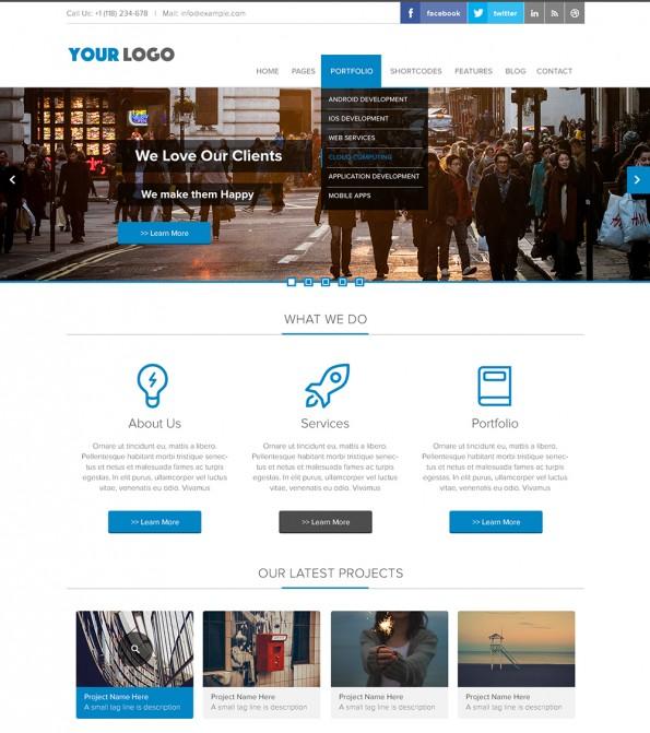 Business Landingpage Web-Template