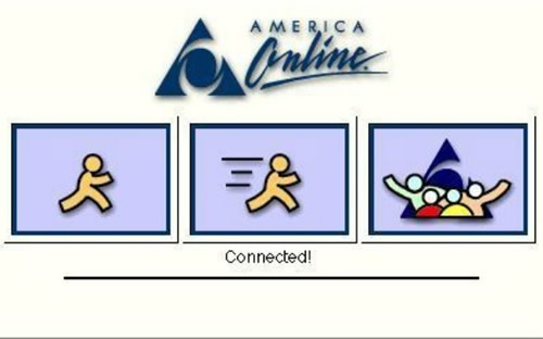 AOL connecting logo