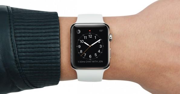 Wer braucht heute schon noch einen Spickzettel, wenn es Gadgets wie die Apple Watch gibt (Foto: Apple)
