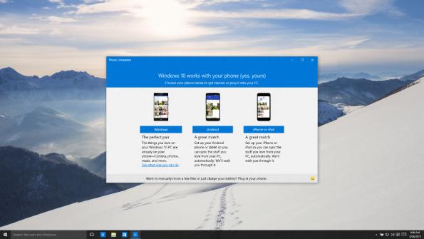 Cortana kommt auch für iOS und Android. (Bild: Microsoft)