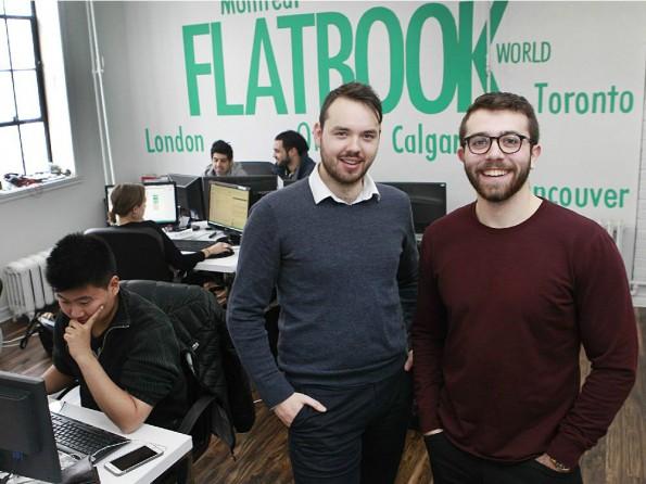 Mit einer Mischung aus Airbnb und MyHammer wollen Francis Davidson und Lucas Pellan den Wohnungsmarkt aufmischen. (Foto: © Floatype)