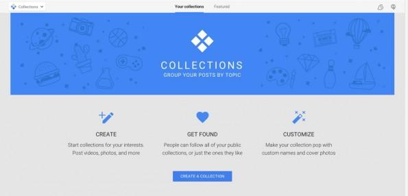 Google+: Auch aus Marketer-Sicht können die Sammlungen sinnvoll sein. (Screenshot: Google+)