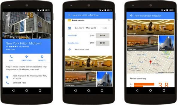Mit neuen mobilen Werbeformaten reagiert Google auf die neue Entwicklung bei den Suchanfragen. (Bild: Google)