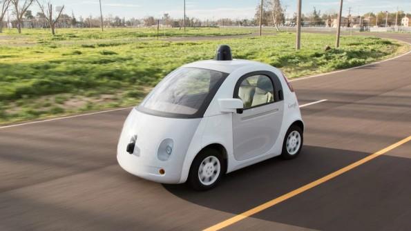 Im Sommer rollen diese selbstfahrenden Google-Fahrzeuge erstmals durch öffentliche Straßen im Silicon Valley. (Foto: Google)