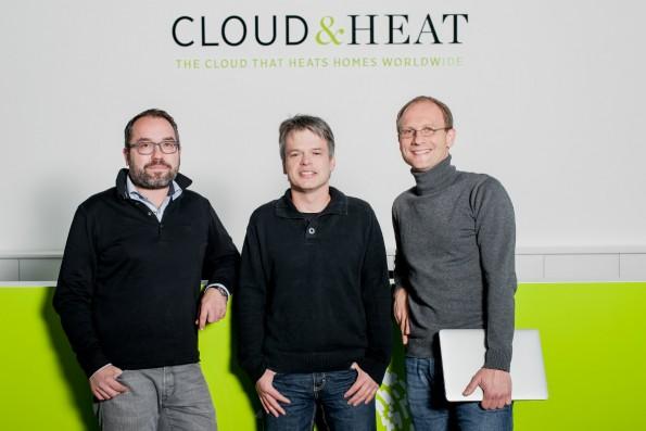 Die Gründer von Cloud & Heat haben aus dem Green-IT-Ansatz kurzerhand ein eigenes Geschäftsmodell gemacht. (Foto: Cloud & Heat)