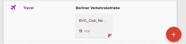 """Beispiel eines von Inbox ausgelieferten """"Anhangs"""". (Screenshot: optivo/ Inbox by Gmail)"""