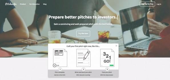 Bin ich überzeugend genug? Diese Tool hilft beim Erstellen und Üben des Startup-Pichtes. (Screenshot: Pitcherific)