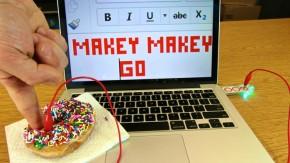Makey Makey Go verwandelt selbst ein Steak in einen Button