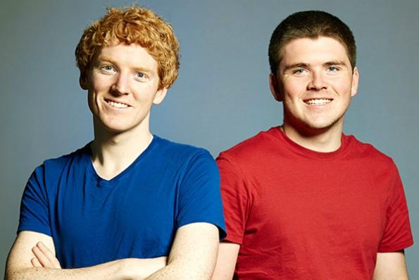 Die Stripe-Gründer Patrick und John Collison. (Foto: Stripe)