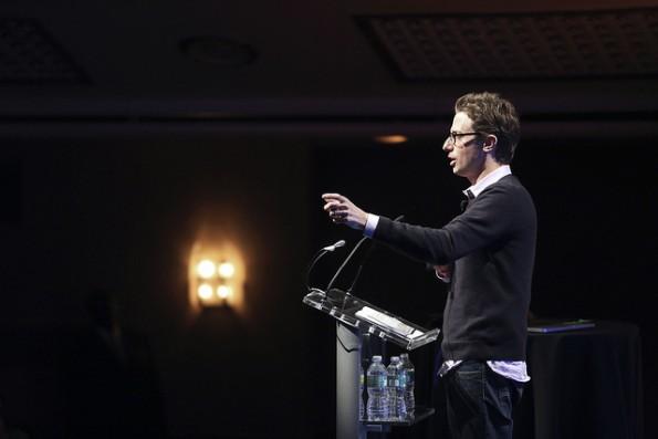 """BuzzFeed-Gründer Jonah Peretti: Das """"Open Lab"""" soll neue Open-Source-Tools für die Medienwelt schaffen. (Foto: TechCrunch / Flickr Lizenz: CC BY 2.0)"""
