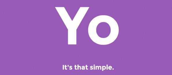 Yo, so einfach ist das. Die Applikation bietet ein enorm reduzierten Kommunikationsprotokoll. (Screenshot: Yo)