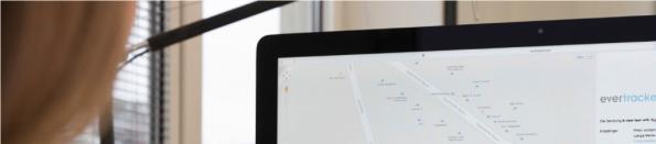 Mit der Evertracker-Software kannst du deine Waren oder Dokumentensendungen verfolgen, siehst den Aufenthaltsort deines Containers oder den deiner Güter. (Screenshot: evertracker.com)