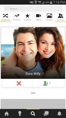 Das Social Network Minds gibt es auch als Android-App. (Screenshot: Minds.com)