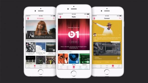 Apple Music: Der neue Service kombiniert iTunes mit einem sozialen Netzwerk für Musiker. (Quelle: Apple.com)