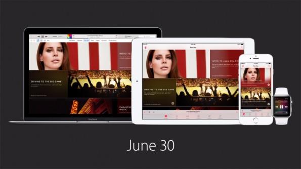 Apple Music gibt es ab 30. Juni. Zunächst für iOS und Mac OS. Später auch für Windows und Android. (Quelle: Apple.com)