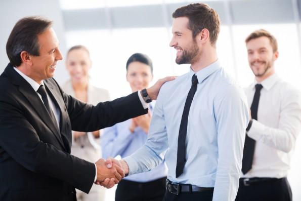 Der nächste Schritt auf der Karriereleiter. (Foto: Shutterstock)