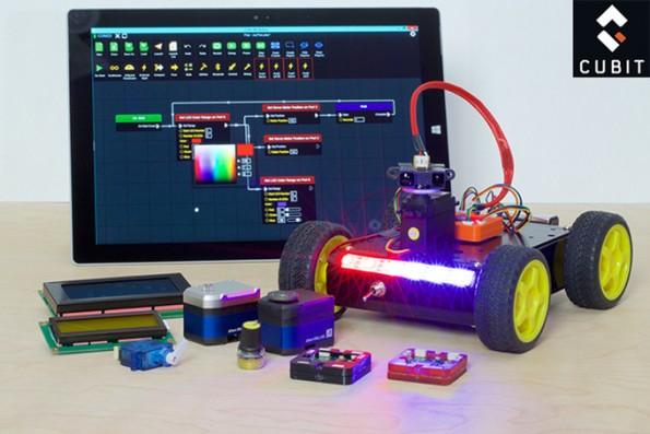 Mit Cubit soll so ziemlich jeder in der Lage sein, eigene Hardware-Projekte umzusetzen. (Foto: Cubit)