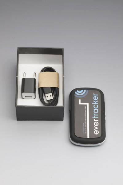 Seine Batterielaufzeit erlaubt dem Evertracker, eure Pakete – je nach Aktivität – zwischen sechs Tagen und sechs Monaten im Blick zu behalten. (Foto: Evertracker)