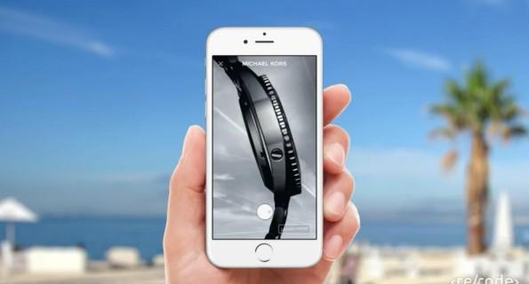 Facebook zeigt in Cannes mobile Werbeformate der Zukunft. (Screenshot: re/code)