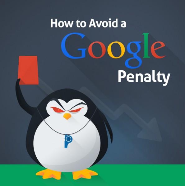 Infografik: So vermeidet ihr Abstrafungen von Google. (Grafik: QuickSprout)