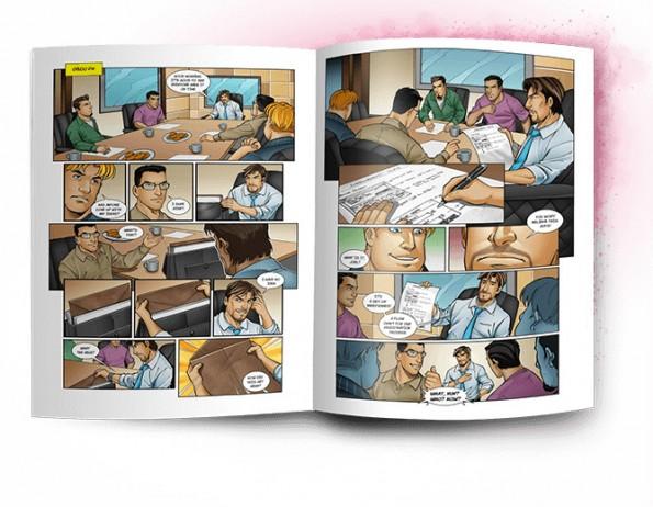 UX Hero ist ein Comic, der ein Loblied auf den Beruf des UX- und Webdesigners singt. (Bild: UX Hero)