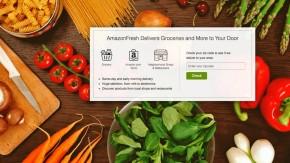 Amazons geheimer Plan: Kunden sollen online bestellte Lebensmittel im Geschäft selbst abholen