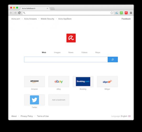 Der Avira-Browser hat Ähnlichkeiten mit Google Chrome. (Screenshot: Avira)