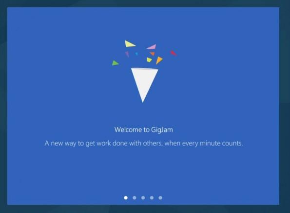 Microsoft macht Preview-Version von Gigjam öffentlich verfügbar. (Screenshot: Gigjam/Microsoft)