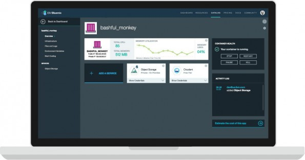 Data-Warehouse-Lösung DashDB steht auf der IBM-Plattform Bluemix zur Verfügung. (Foto: IBM)