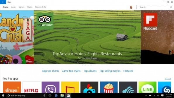 Apps für Windows 10. (Bild: Microsoft)