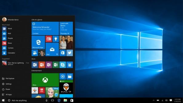 Upgrade: Windows 10 soll jetzt verstärkt auch in kleinen Unternehmen Einzug halten. (Bild: Microsoft)