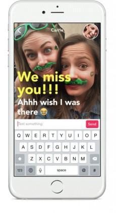 Yahoo Livetext: Die Messenger-App für die Generation GIF. (Bild: Yahoo)