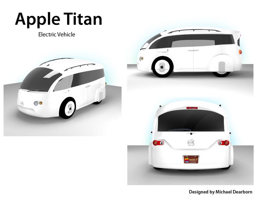 Apple Car Project Titan 2 T3n