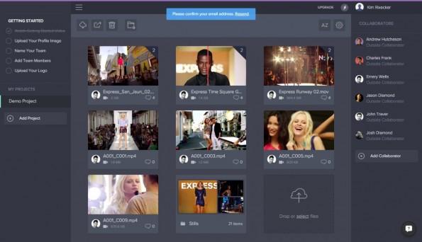 Filmproduktion: Der Cloud-Dienst Frame.io bietet jetzt auch eine direkte Final-Cut-Pro-Integration. (Screenshot: Frame.io)