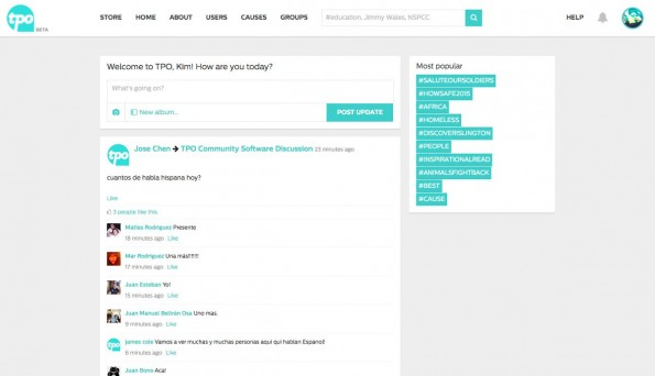 Social Media: Wikipedia-Gründer Jimmy Wales stellt neues Social Network vor. (Screenshot: TPO)