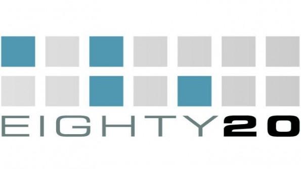 Eighty20 setzt in seinem Logo auf Binärcode. Hättet ihr ihn erkannt? (Logo: Eighty20)